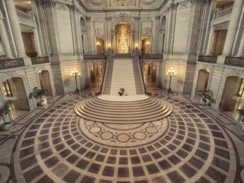 san francisco city hall grand staircase
